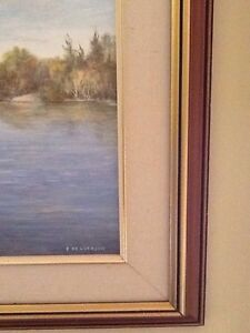 Great Framed Painting by Local Artist EDNA HENDERSON Belleville Belleville Area image 5