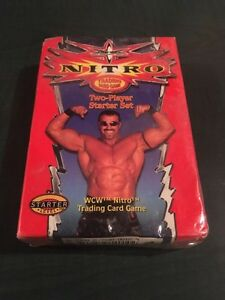 WcW Nitro Sealed Trading Cards London Ontario image 1