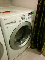 LG Front Loading Washer/Dryer set with warranty