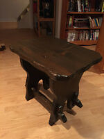 2 X VERY MINT HAND CRAFTED SOLID PIINE COFFEE TABLE - $120 each