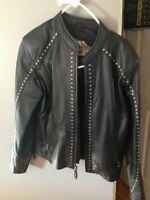 Ladies Harley Davidson Leather Jacket - Size M