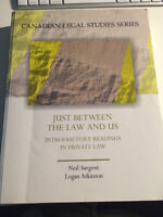 Just Between the Law and Us- Introductory Readings Private Law