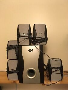 Yahoo surround sound system