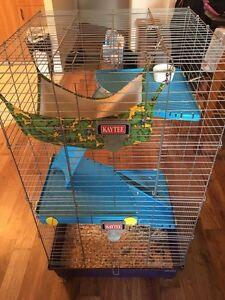 Cage à rongeurs (furet/chinchilla/hérisson/ect)