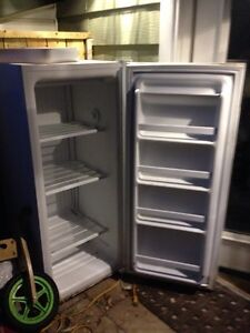 Woods upright freezer - works! Perfect for apartment