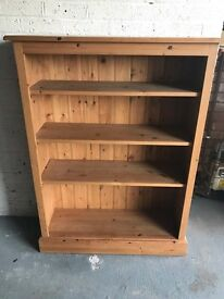 Solid quality made pine bookcase