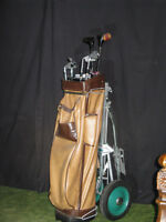 "Used Mens Wright & Ditson ""Tee Flight 4450"" Golf Set - righthand"