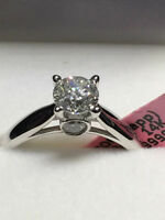 NEW !!!!! 1.00TCW 14K WHITE GOLD ENGAGEMENT RING !!!!!