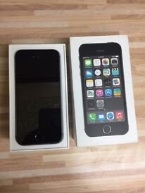 iPhone 5s space grey. 3 network