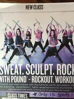 New Pound Rockout Workout