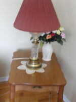 lamps and tables for sale