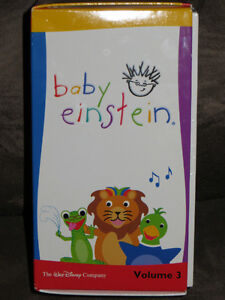 5 Baby Einstein VHS tapes