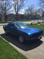 2010 Dodge Challenger 2Dr Coup with low mileage.