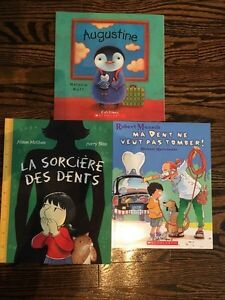 French books - R.Munsch, M.Watt, A.McGhee