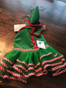 Christmas pet costume - brand new with tags