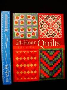 Quilts - 24 Hour Quilts - Rita Weiss [Covered Hardback] Loganholme Logan Area Preview