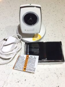 SUMMER INFANT TOUCH SCREEN BABY VIDEO MONITOR FOR SALE LIKE NEW