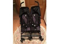 McLaren Double Buggy Immaculate Condition