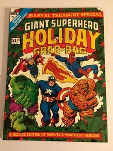 Giant Superhero holiday marvel treasury special