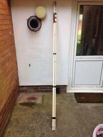 230 cm cream metal blind