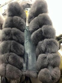 Mink waist coat