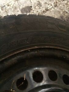 Winter tires for sale on rims  Cornwall Ontario image 2