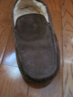 UGG Australia Slippers/Mocassins - Size 9 - Brown Suede