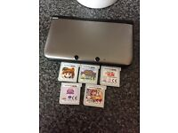 Nintendo 3ds xl with games (like new)