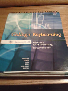 College Keyboarding Lessons 56-120