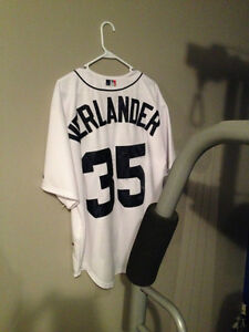 XL Detroit Tigers Justin Verlander Baseball Jersey Kitchener / Waterloo Kitchener Area image 2