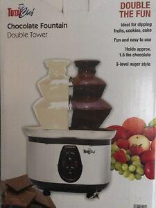 Dual Chocolate Fountain