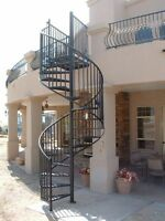 SERVICE.POUR FER FORGÉ. PAINTER FOR IRON STAIRS BALCONS.