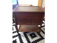 Vintage sewing box / hostess trolley