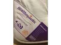 Healthopaedic mattress and bed
