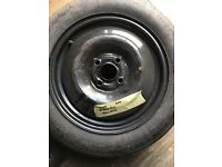 "Rover 15""4 stud space saver wheel"