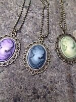 Cameo costume jewellery