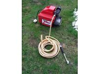 CLARKE JUMBO AIR COMPRESSOR FOR TYRES WORKS GREAT CB5 £55