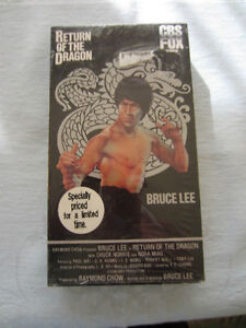 BRUCE LEE - RETURN OF THE RED DRAGON - VHS
