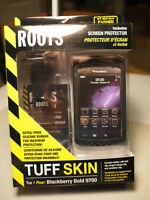 Roots Tuff Skin for Blackberry Bold 9700 NEW IN BOX