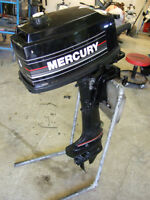 MERCURY 5 HP SHORT SHAFT 2 STROKE