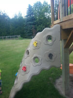 Commercial Playground Rock Wall