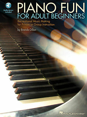 Piano Fun for Adult Beginners  - Book and Audio - NEW 000296807