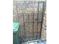 Metal garden gate , iron , garden door