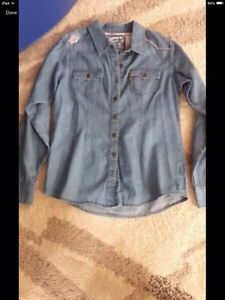Girls Size 8 New Clothing - Levi Shirt, Jeggings and Gap Jeans
