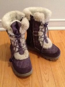 Children's Place Winter Boots with faux-fur trim -Girl's