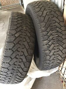 Sale 2pcs Winter Tires Goodyear Nordic