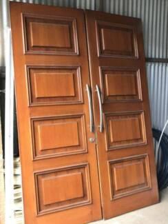 Hardwood Front entry doors