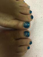 Gel Nails and Gel Toes Technician starting at $30 - $40