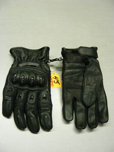 Short Cuff Leather Gloves - Vented - NEW at RE-GEAR