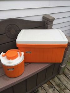Cooler and thermos